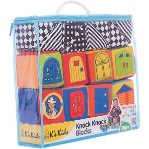 Ks Kids Мягкие кубики в коробке K's