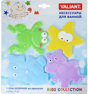 Набор мини-ковриков  Веселые Зверушки Valiant