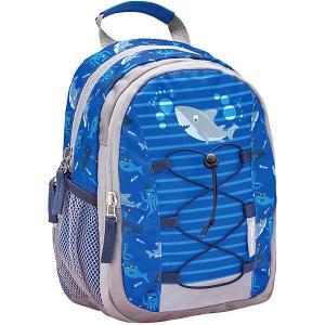 Рюкзак  Mini Kiddy Акуленок Belmil. Цвет: сине-серый