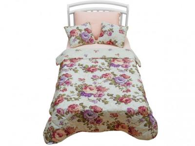 Комплект в кроватку  Rose Kids 170х120 покрывало с подушками Giovanni