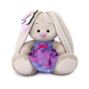 Мягкая игрушка  Малыши Зайка Ми в платье, с единорогом на ушке 15 см Budi Basa
