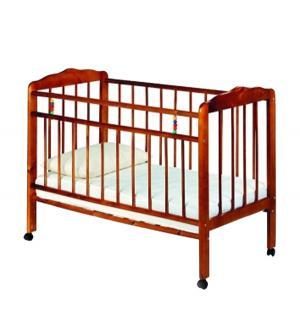 Кровать-качалка  Женечка-1, цвет: вишня ИП Смирнов