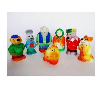 Игрушки Колобок (7 персонажей) Кудесники