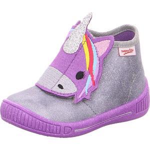 Ботинки Superfit. Цвет: grau/lila