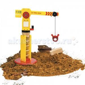 Деревянная игрушка  Строительный кран LeToyVan
