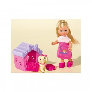Кукла Еви с собачкой в домике, 12 см, Simba
