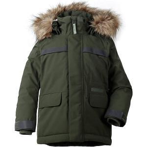 Утеплённая куртка Didriksons Hajen DIDRIKSONS1913. Цвет: зеленый