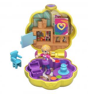 Компактный игровой набор  Мольберт и краски Polly Pocket
