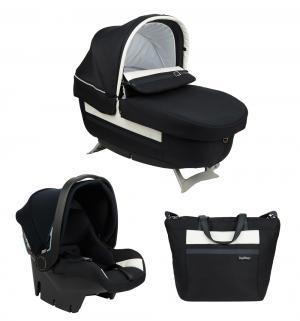 Набор для трансформации  Люлька Navetta Elite + автокресло Primo Viaggio Tri-Fix сумка Borsa, цвет: luxe prestige Peg-Perego