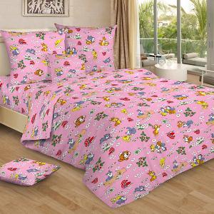 Детское постельное белье 3 предмета , BG-95 Letto. Цвет: розовый