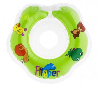 Круг для купания  Flipper на шею новорожденных ROXY-KIDS