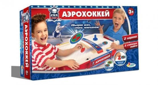 Аэрохоккей Играем вместе