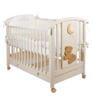 Кровать детская  Babi, цвет: слоновая кость Mibb