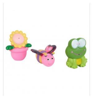 Игрушка для ванной  лягушка, пчелка, цветочек в горшочке Игруша