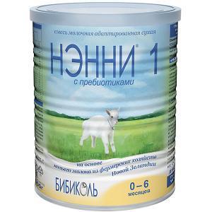 Молочная смесь на основе козьего молока  1, с 0 мес, 400 г Нэнни