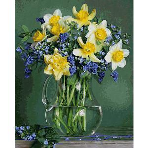 Набор для раскрашивания по номерам  Букет весенних цветов Schipper