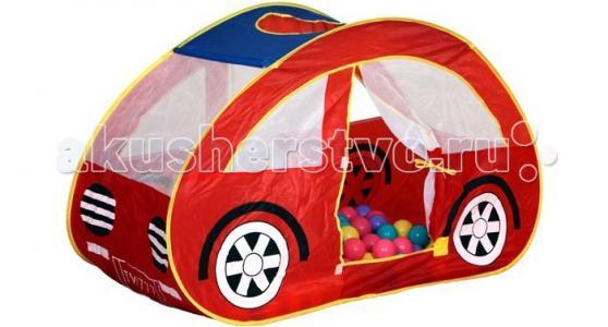 Ching-Ching Игровая палатка Машина + 100 шаров BabyOne