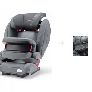 Автокресло  Monza Nova IS Seatfix и чехол под детское кресло малый АвтоБра Recaro