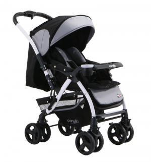 Прогулочная коляска  Carello M8, цвет: чёрный/коричневый Maxima