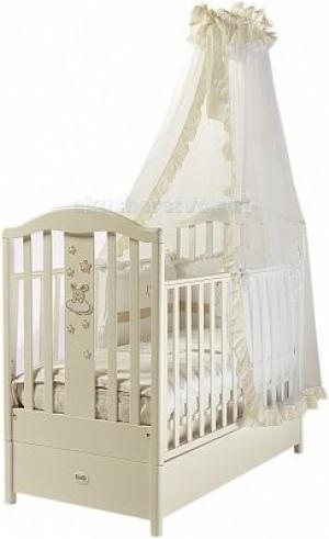 Детская кроватка  FMS Ricordo продольный маятник Feretti
