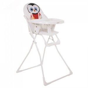 Стульчик для кормления  Пингвин с перекидной столешницей BamBola
