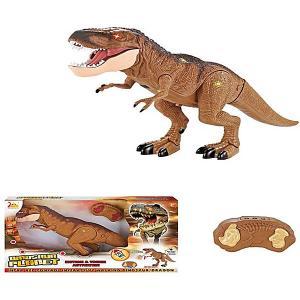 Радиоуправляемый динозавр  Планета Динозавров, свет/звук Zhorya. Цвет: разноцветный