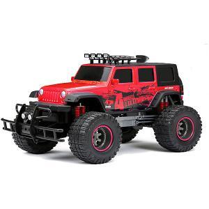 Радиоуправляемая машинка t Door Jeep 1:12 красный New Bright
