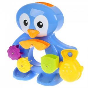 Развивающая игрушка для купания на присоске Пингвин Умка