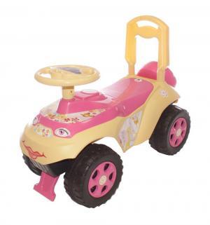 Машинка  Автошка, цвет: розовый/бежевый Doloni