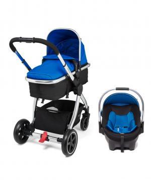 Коляска  Journey Chrome Blue (Система для путешествий), цвет: голубой Mothercare