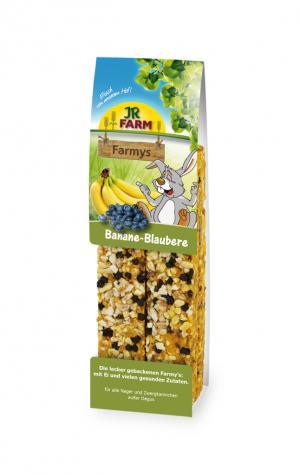 Лакомство  для грызунов Палочки с бананом и черникой, 160г JR Farm