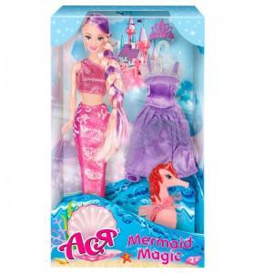 Кукла Ася Волшебная Русалочка дизайн 2 28 см Toys Lab