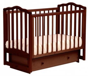 Детская кроватка  АБ 19.2 Жасмин маятник поперечный с ящиком Кубаньлесстрой