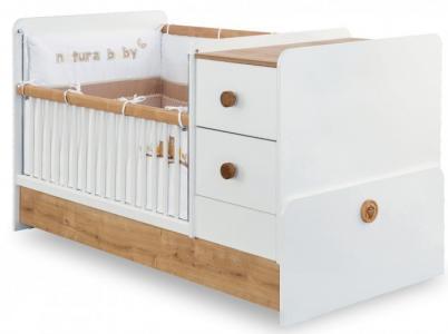 Кроватка-трансформер  Natura Baby 160х75 см Cilek