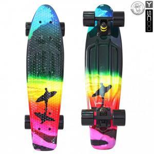 Скейтборд Fishskateboard Print 22 Y-Scoo
