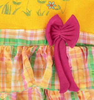 Платье , цвет: желтый/зеленый Damy-M