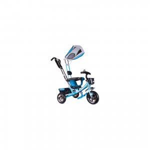 Трехколесный велосипед  Бронз Люкс 10/8 Zilmer. Цвет: голубой