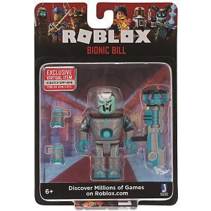Игровая фигурка  Roblox Бионический Билл Jazwares