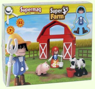 Конструктор  Piccoli Mondi Super Farm Plastwood