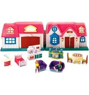 Игровой набор  Home Sweet Дом с предметами (без звука) 60 см Keenway