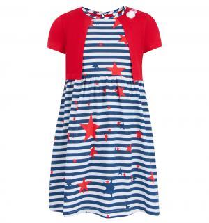 Платье , цвет: красный M&D