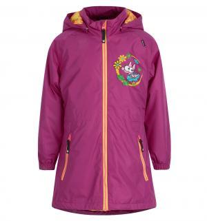 Куртка  Kanerva, цвет: фиолетовый Lappi Kids
