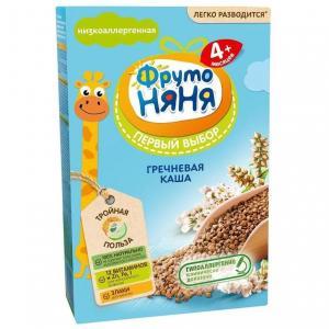 Каша  безмолочная гречневая с витаминами и минералами 4 месяцев 200 г ФрутоНяня