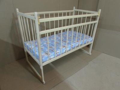 Детская кроватка  13 120x60 см (качалка) Мишутка