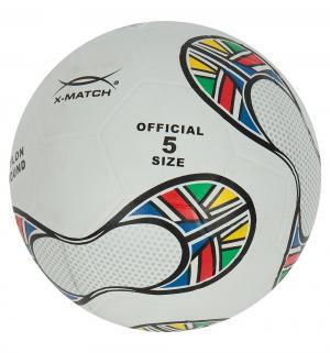 Футбольный мяч  белый размер 5 X-match