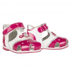 Сандалии , цвет: розовый Elegami