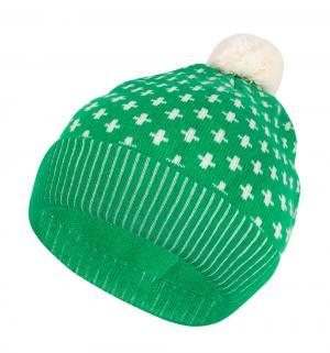 Шапка , цвет: зеленый Flobaby
