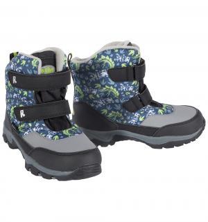 Ботинки  Dinosaur, цвет: синий/серый Reike