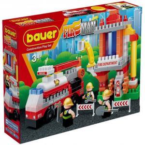 Конструктор  Fireman Пожарная вышка (143 элемента) Bauer