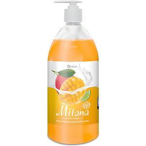 Жидкое крем-мыло  Milana Манго и лайм, 1000 мл Grass